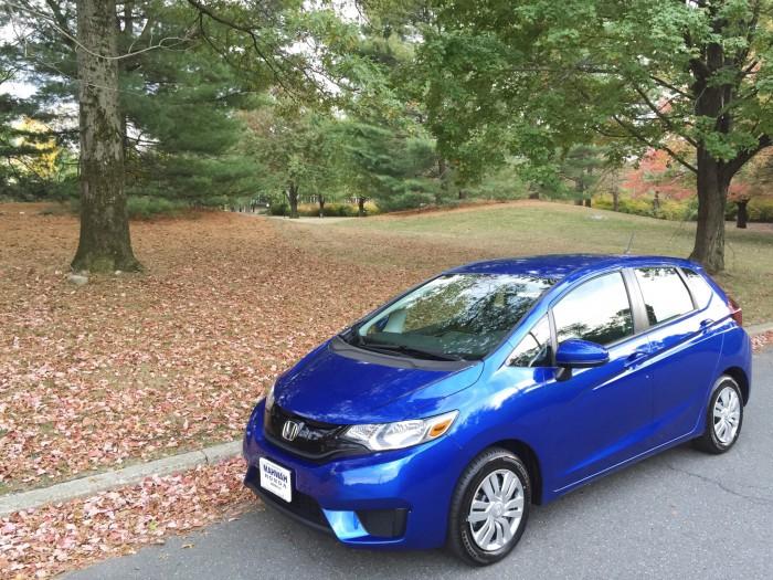 First Aegean Blue Metallic 2015 Honda Fit has Arrived ...